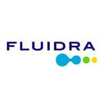 Logo Fluidra créateur de matériel pour répandre du chlore