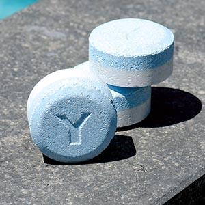 Galet ou tablette de chlore piscine dose pour volume d'eau à traiter pour la propreté prix achat