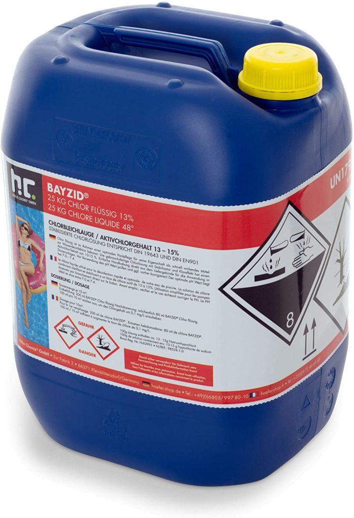 Höfer Chemie 25 kg Chlore liquide 48°  SW535  427214761
