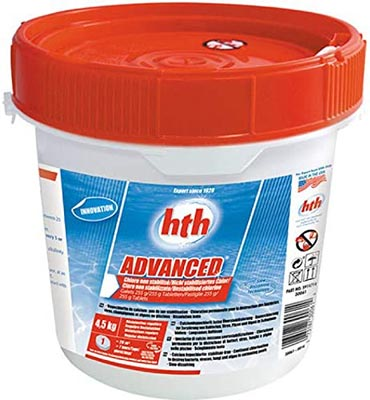 Chlore Hth Advanced non stabilisé 00228024.30061 guide achat