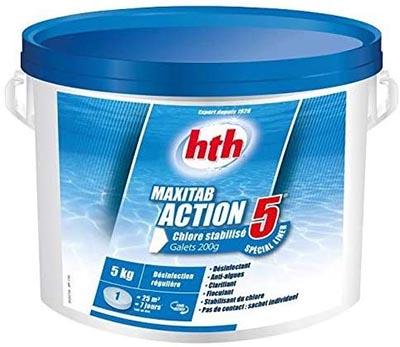 HTH Maxitab Action 5 00218744 600356 Chore piscine liner