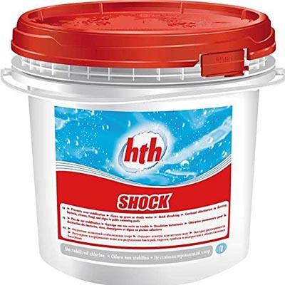 HTH Shock 00205120.730742 meilleur chlore choc galet de 150 g pour une piscine 10 m³
