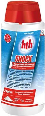 HTH chlore Shock 00205813 2 kg récupérer une eau de piscine verte facilement