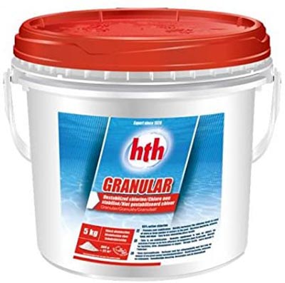 Hth Granular 00205119 30741 chloration choc piscine 5 kg 205119