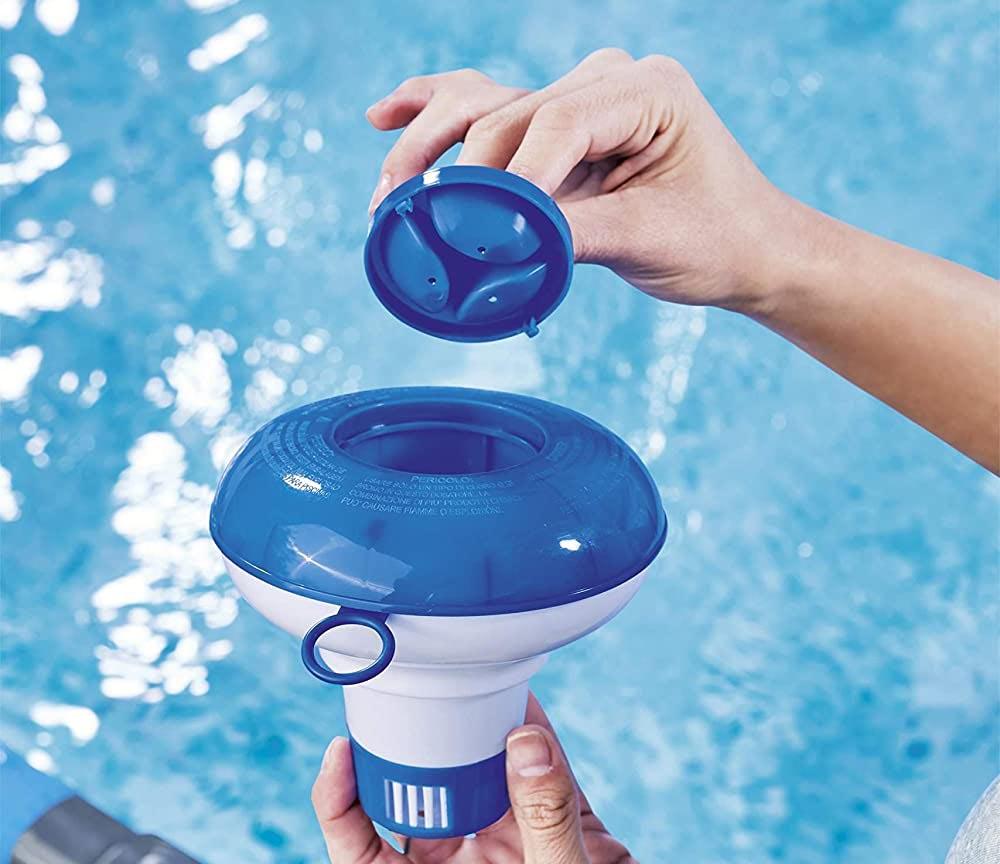 diffuseur chlore piscine pas cher