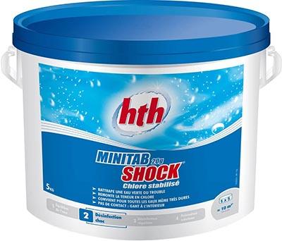 Minitab Shock HTH 00218524.600113 galet chlore 20G